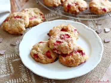 Cookies aux fraises & chocolat blanc (2)