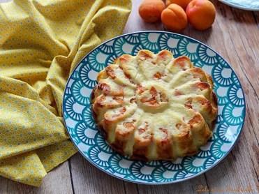 Flan au yaourt & abricots (4)