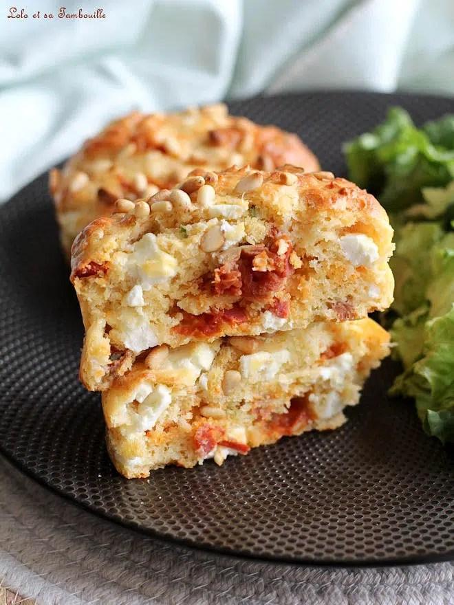 recette cake chorizo feta, recette cake chorizo feta tomates séchées