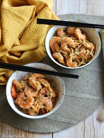 Crevettes sautées sucrés salé (3)