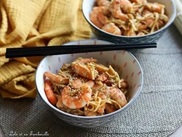 Crevettes sautées sucrés salé (6)