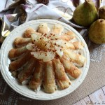 charlotte aux poires fromage blanc,charlotte aux poires