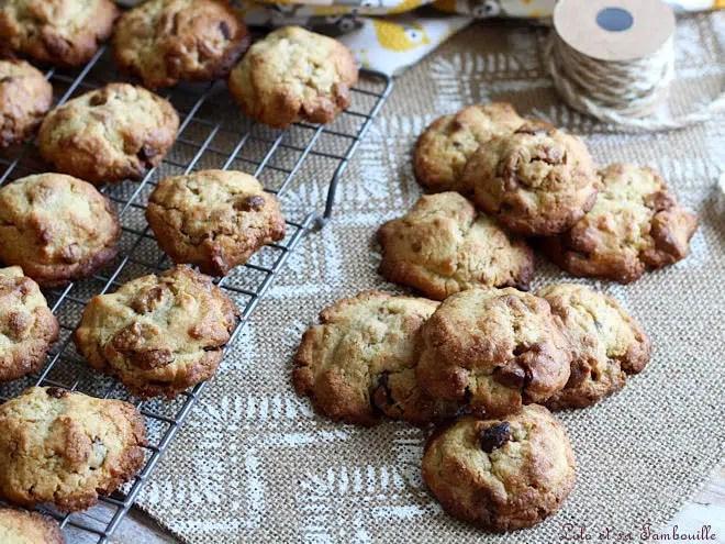 cookies à la pralinoise,cookies avec pralinoise,cookies pralinoise