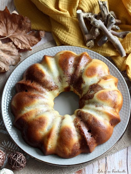 Moelleux aux poires & praliné (2)