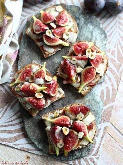 Tartines aux figues & parmesan (2)