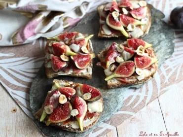 Tartines aux figues & parmesan (4)