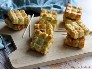Cake aux poireaux & chorizo (2)