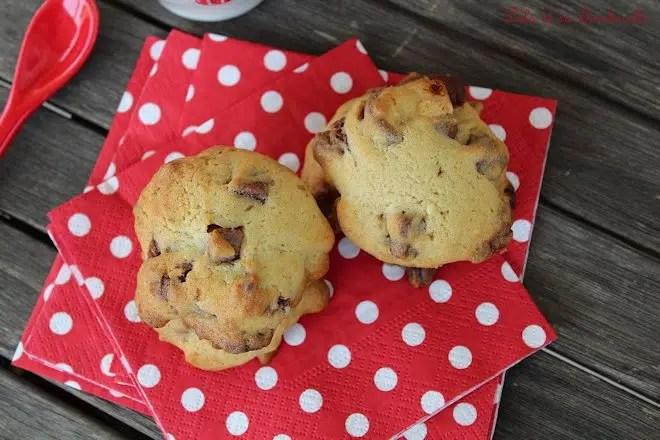 Biscuits tendres aux éclats de chocolat
