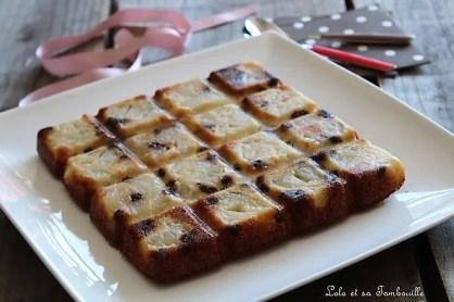 Gâteau aux poires & chocolat (2)