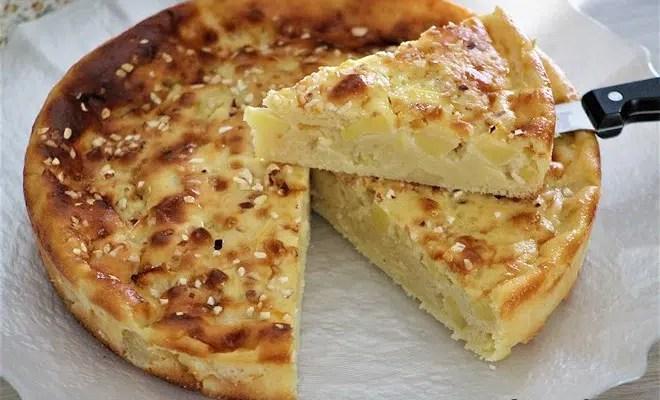 Gâteau au fromage blanc & aux pommes {recette légère}