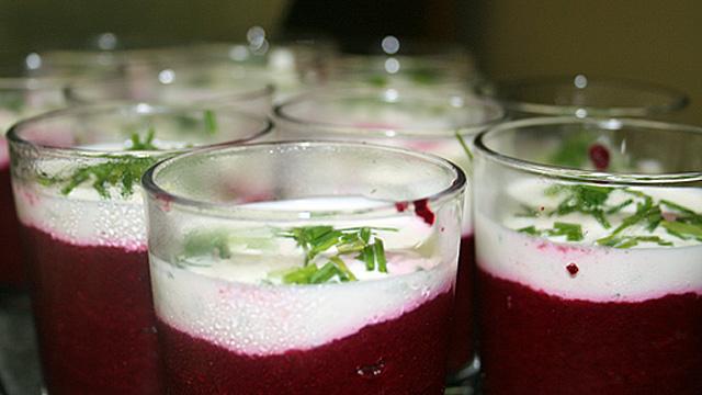 Gaspacho de betterave rouge (Photo Cuisinemaison.net)