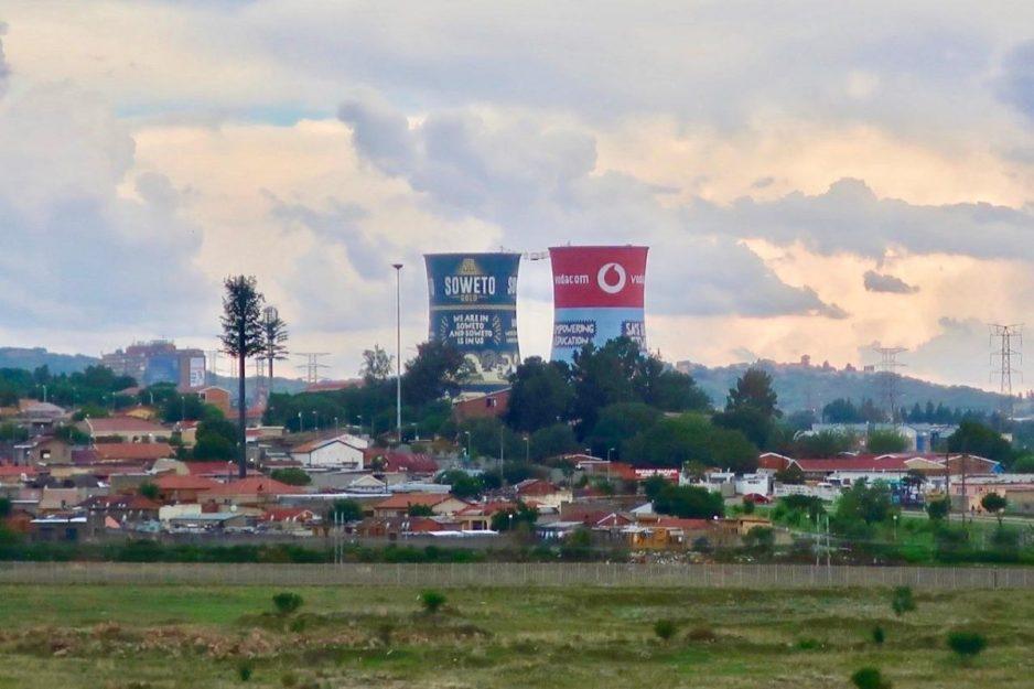 Orlanda Stadium in Soweto, South Africa