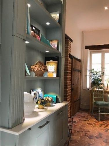 Cuisine Poésie Arthur Bonnet réalisé à Reims par l'Entreprise GARNOTEL