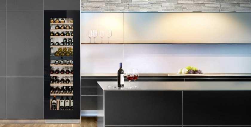 EWTgb 3583 - cave à vin encastrable LIEBHERR - Dans l'exposition de cuisines GARNOTEL à Courcy 51220