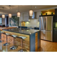 Melamine Kitchen Cabinets Stainless Sinks 2 Cuisines Laurier