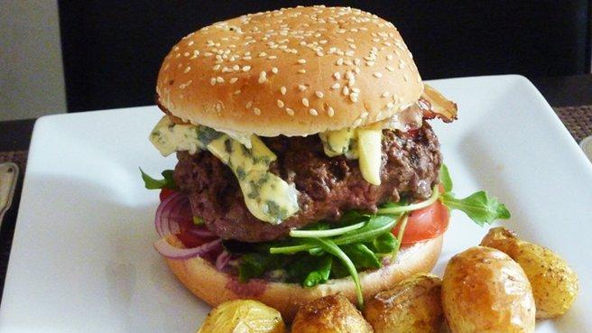Hamburger maison  Cuisine Ta Mre