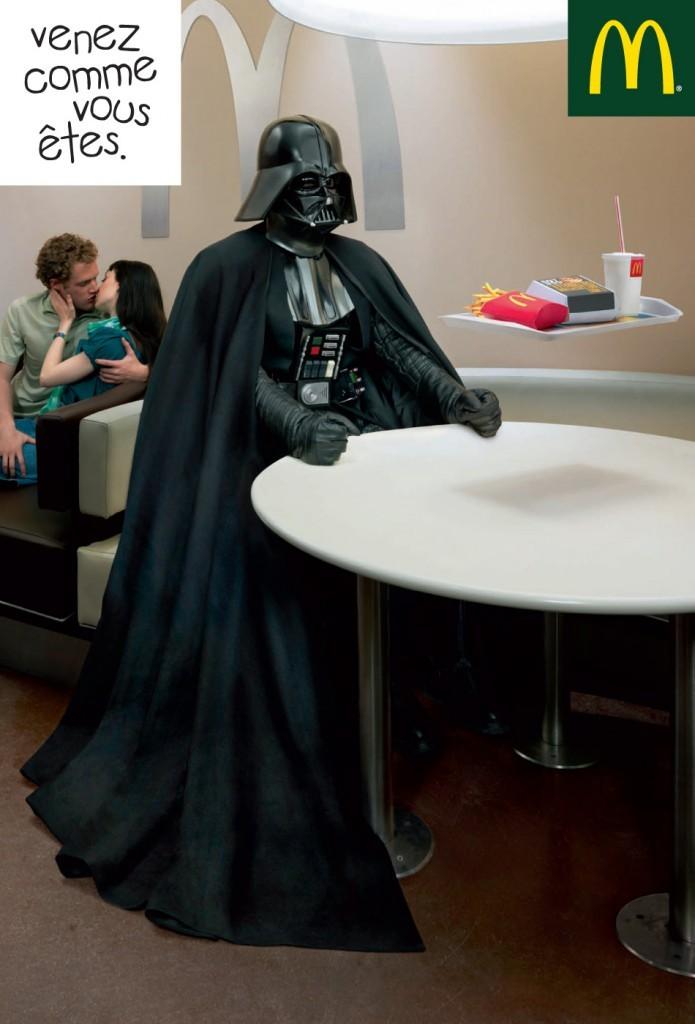 Le Star Wars Day vu par la pub  Cuisine Ta Mre