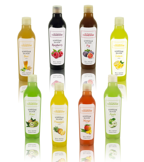 Cuisinewine Flavoured Vinegar Glaze – 250ml (x6)