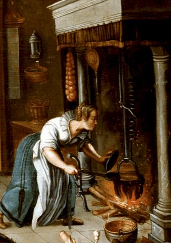 Les Originies De La Cuisinieres A Bois