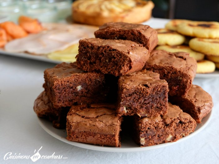 brownie trop facile à réaliser