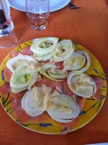 salade saumon fenouil
