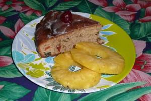 Gâteau aux fruits confits 4