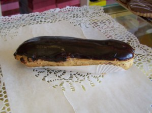 eclair chocolat cointreau