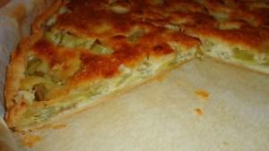 tarte amandine a la rhubarbe 2