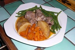 Sauté d'agneau aux légumes 4