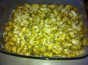 gratin de gnocchis aux courgettes (1)