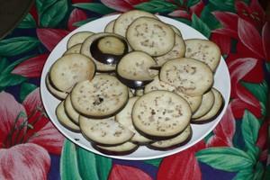 Chips d'aubergine 1