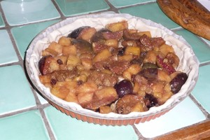 Tarte ananas figues 4