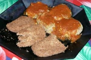 boulettes de sarrasin au concombre avec seitan pané