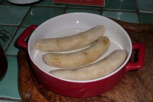 Bananes gratinées au lait d'amande 1