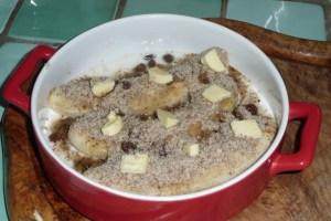 Bananes gratinées au lait d'amande 4