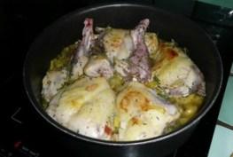Cuisses de lapin aux aromates et aux épices (4)