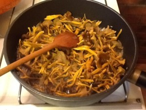risotto chanterelles