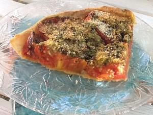 tarte à la tomate à la provençale