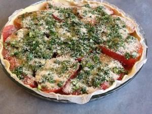tarte à la tomate provençale