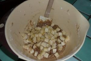 Cakeà la banane et aux noisettes (2)