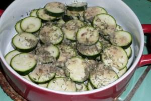 Courgettes au four et à la mozzarella (2)