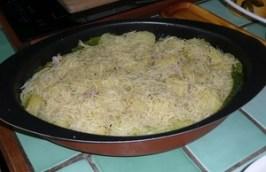 Chou vert frisé en gratin (5)