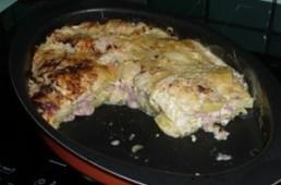Chou vert frisé en gratin (8)
