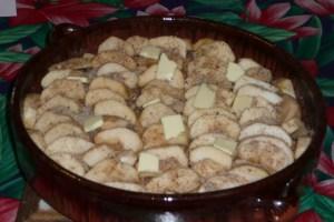 Gratin de pommes à la purée de noisettes (3)