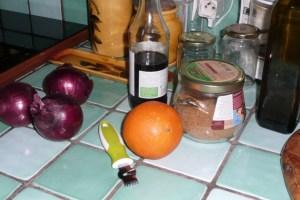 Compotée d'oignons rouges (1)