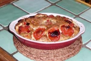 Clafoutis de tomates cerise (5)
