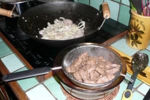 Sauté de canard à la sauce d'huître (5)