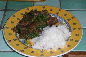 Sauté de canard à la sauce d'huître (9)