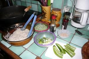 Wok de nouilles chinoises (2)