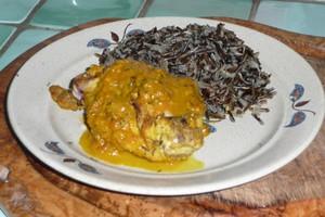 Lapin à l'orange et au curry (4)